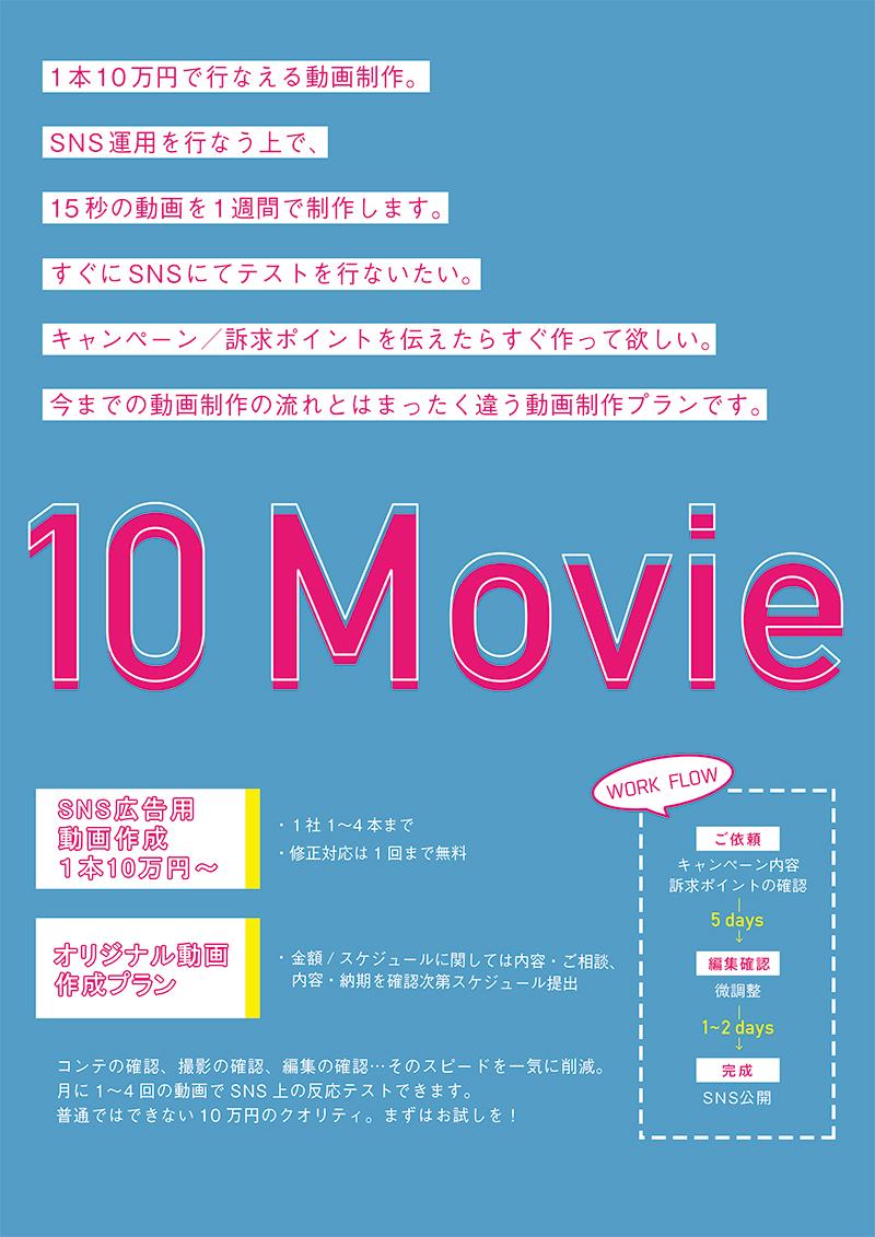 10万円で出来る動画制作