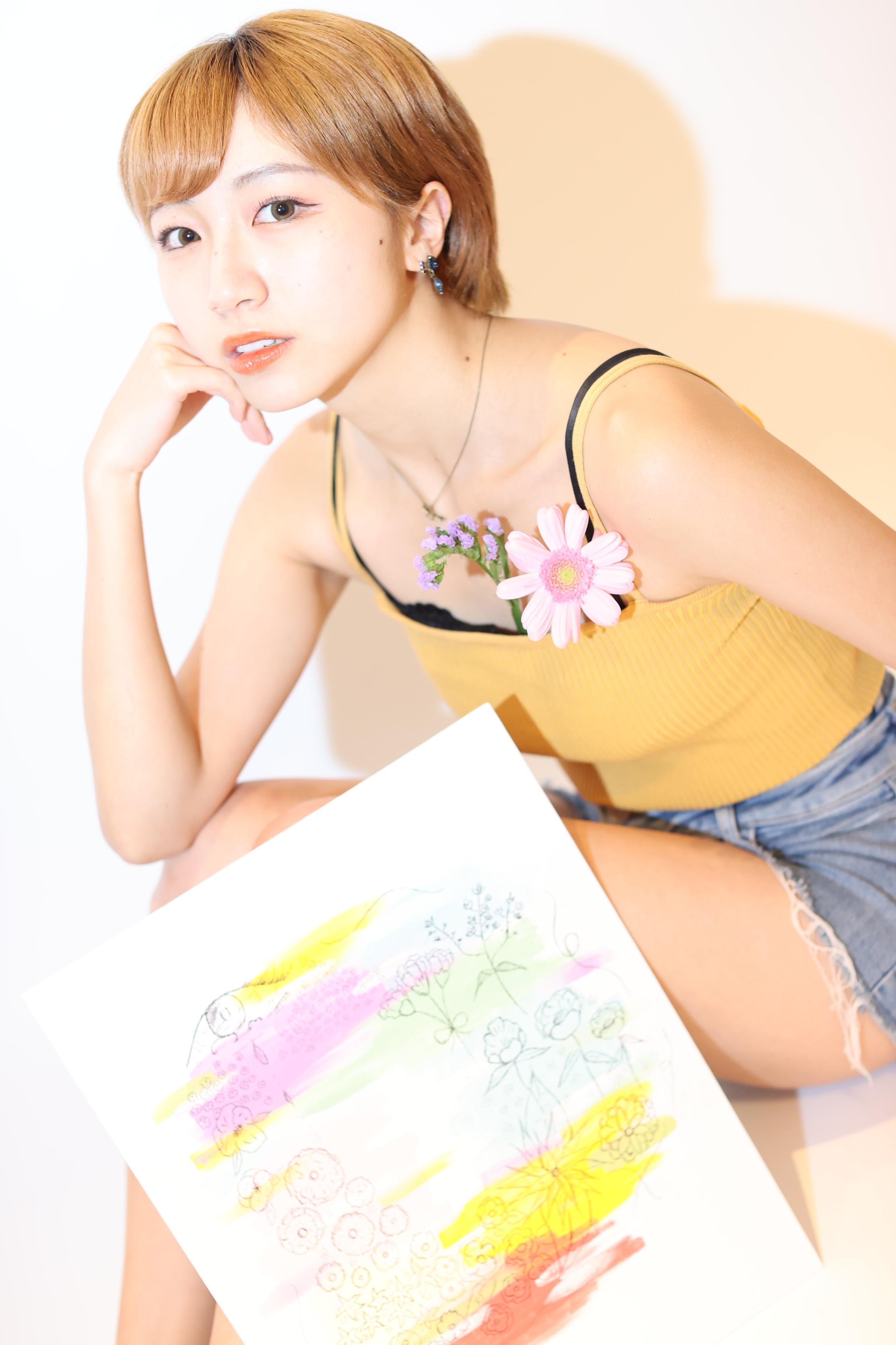 Nanaさんアート写真